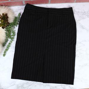Old Navy Pinstripe Pencil Skirt 4